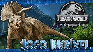 🎮 JURASSIC WORLD EVOLUTION - EP1 - Jogo Incrível