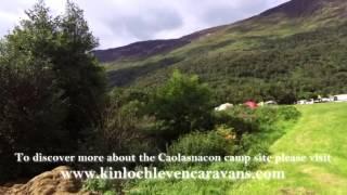 Caolasnacon Campsite, Kinlochleven, Scotland