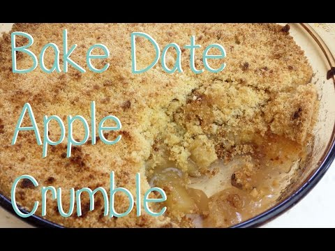 Bake Date with Lolli Apple Crumble