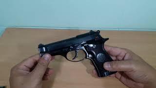 ปืนพก .22 LR เบเร็ตต้า M87(ไทย) /Beretta M 87 BB Cheetah .22lr