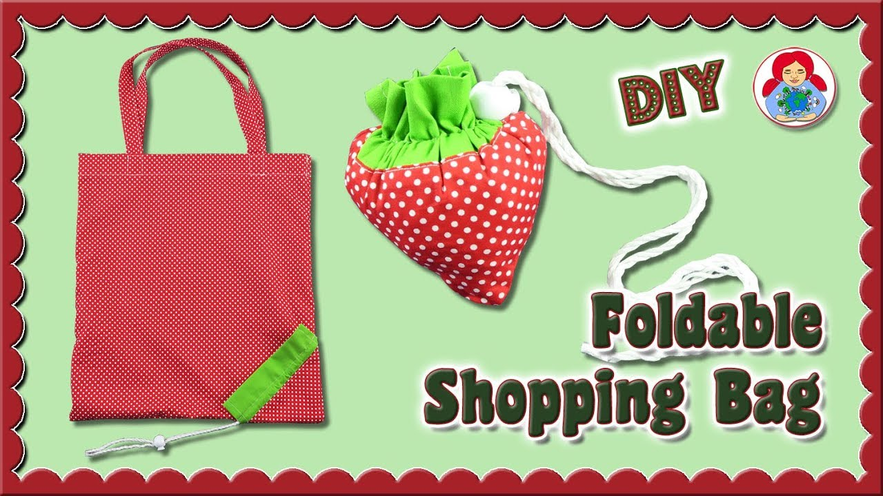 Diy Foldable Ping Bag Strawberry Sami Dolls Tutorials