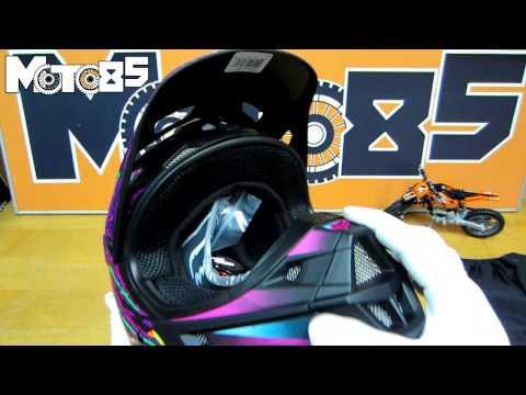 Обзор шлема Fox Racing V1 2015 от Moto85.ru