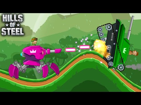Hills Of Steel - New Tank ARACHNO Walkthrough Game for Kids