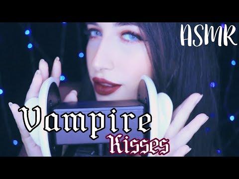 ASMR ♡ vampira ear kissing! ^(#`∀´)_Ψ (roleplay)