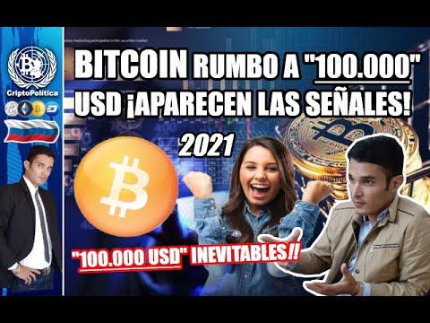 BITCOIN A 100.000 USD EN 2021!!! 😱 Ya Esto Es Inevitable!! 🙌🤑💰
