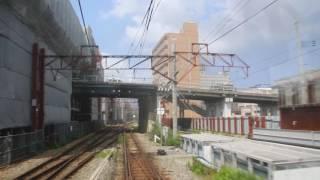 SLばんえつ物語号 会津若松行 新潟駅発車 (2016.06.18)