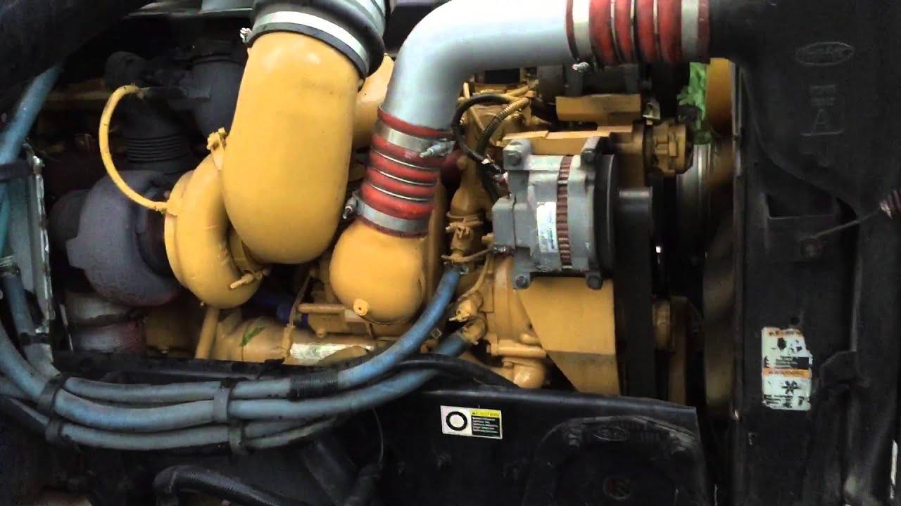 Cat Engine Sound Acert Twin Turbo C 15 Youtube Turbocharger Diagram Of Premium
