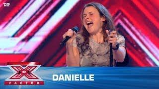 Danielle synger egen sang (5 Chair Challenge)   X Factor 2020   TV 2
