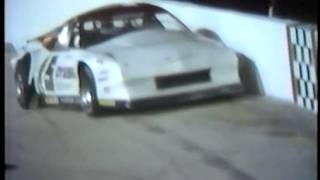 Butch Lindley Wreck 4 13 1985