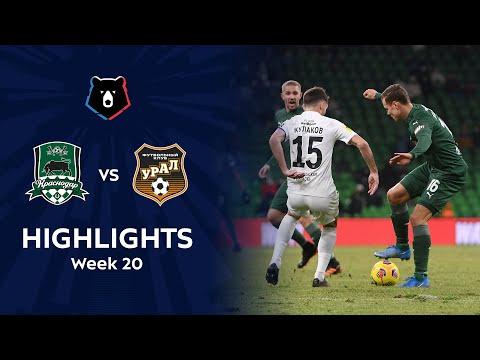 Krasnodar FK Ural Goals And Highlights