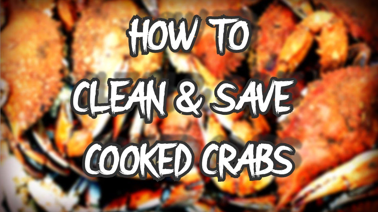 How To Clean Blue Crabs and Save Them in the Freezer