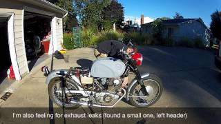 1966 Honda CB77 Restoration - 10. It's Alive!