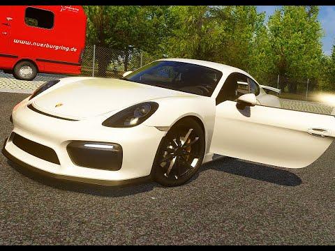 [Assetto Corsa] Porsche Cayman GT4 At Nurburgring (Full Showcase) |