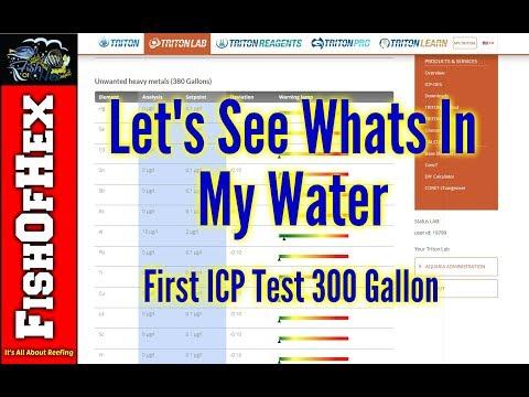 300 Gallon Reef First Triton ICP Test Results & My Little Dosing Secret