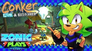 Let's Play: Conker Live & Reloaded (Xbox One X) - Part 1 - Zonic Plays Live