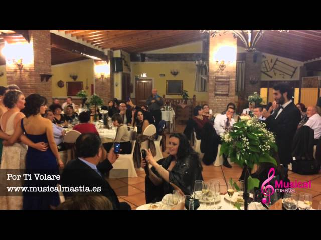 Por ti Volare ANDREA BOCELLI - BODAS MURCIA ALICANTE ALMERIA Musical MastiaMastia wedding