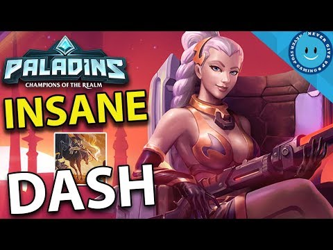 INSANE LIAN DASH BUILD! CRAZY FAST, CRAZY FAR! Lian Gameplay and Build (Paladins)