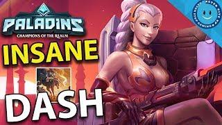 INSANE LIAN DASH BUILD! CRAZY FAST, CRAZY FAR! Lian Gameplay and Build (Paladins)