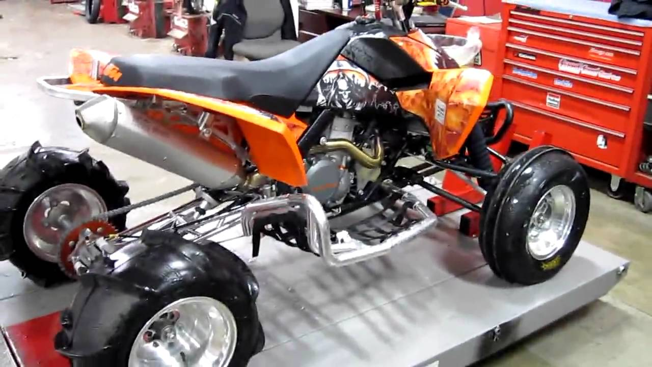 KTM 525 XC ATV - YouTube