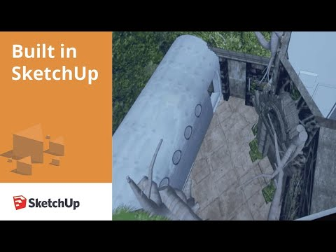 Built in SketchUp: The Escape Game
