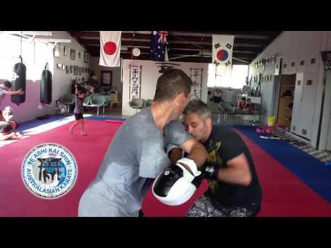 Renshi Kym Ireland - Te Ashi Kai Shin Karate Dubbo NSW