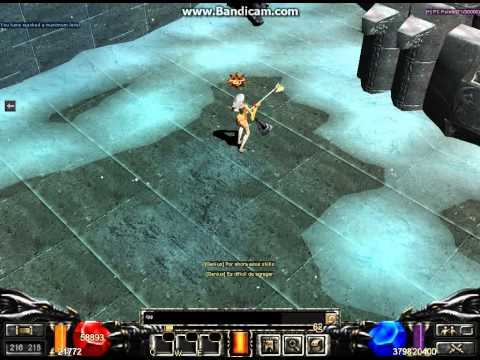 MuOnline New Character Skill Test: New Sorceress Character By Pinkof