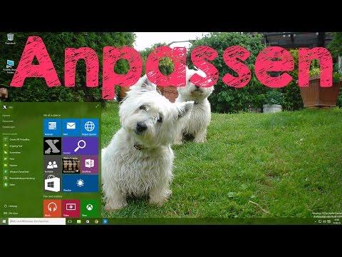 Windows 10 Hintergrundbild, Sperrbildschirm und Farben ändern, Anleitung auf Deutsch