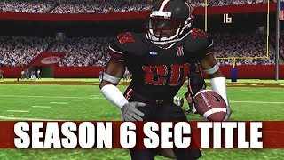 IS THIS THE YEARS - NCAA FOOTBALL 06 PRIME U DYNASTY - SEC TITLE GAME