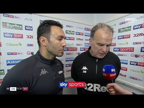 Marcelo Bielsa explains why he made Leeds United let Aston Villa score!