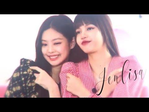 Jenlisa Moments in Abema TV Part 1 [BLACKPINK Jennie x Lisa]