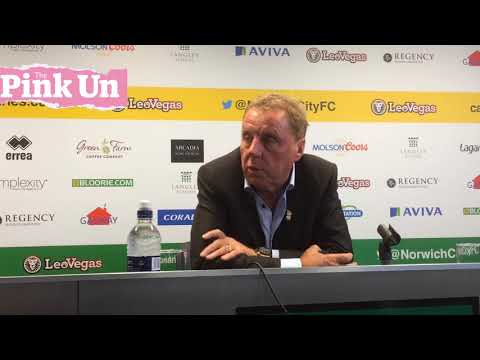 Birmingham City boss Harry Redknapp on 1-0 Norwich City defeat
