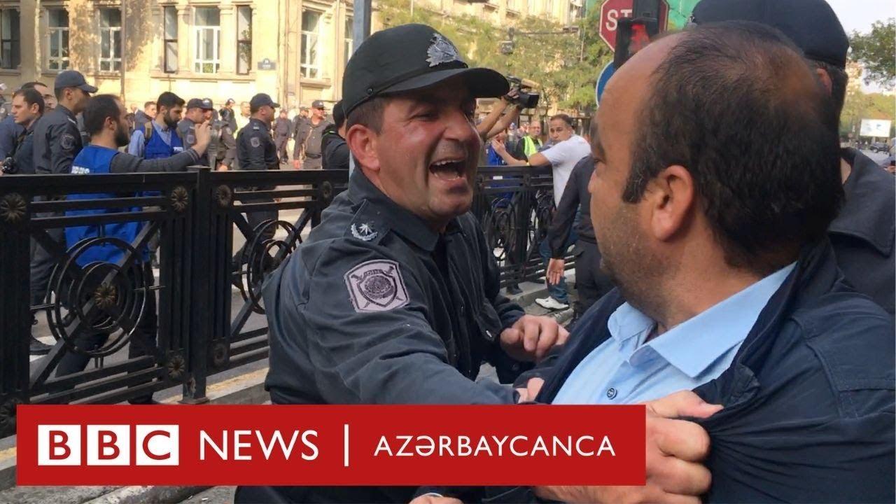 Jahrein - Azerbaycandaki Polisin Garip Tepkilerini İzliyor ve Yorumluyor