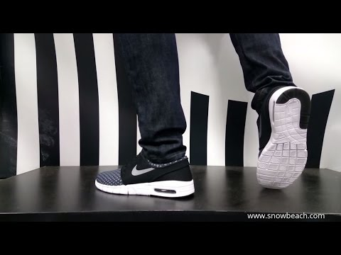 nike roshe run noire homme - NIKE SB STEFAN JANOSKI MAX black metallic cool grey white 631303 ...