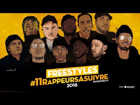 Freestyle #11RappeursASuivre 2018  (Moha La Squale, Rémy, Dabs, Kofs, Zola)