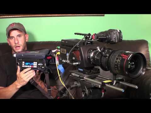 The Phantom HD GOLD High Speed Digital Cinema Camera