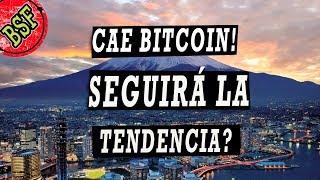Bitcoin llegará a $9500 todavía? Parece que solo fue ruido de mercado... o caída real?