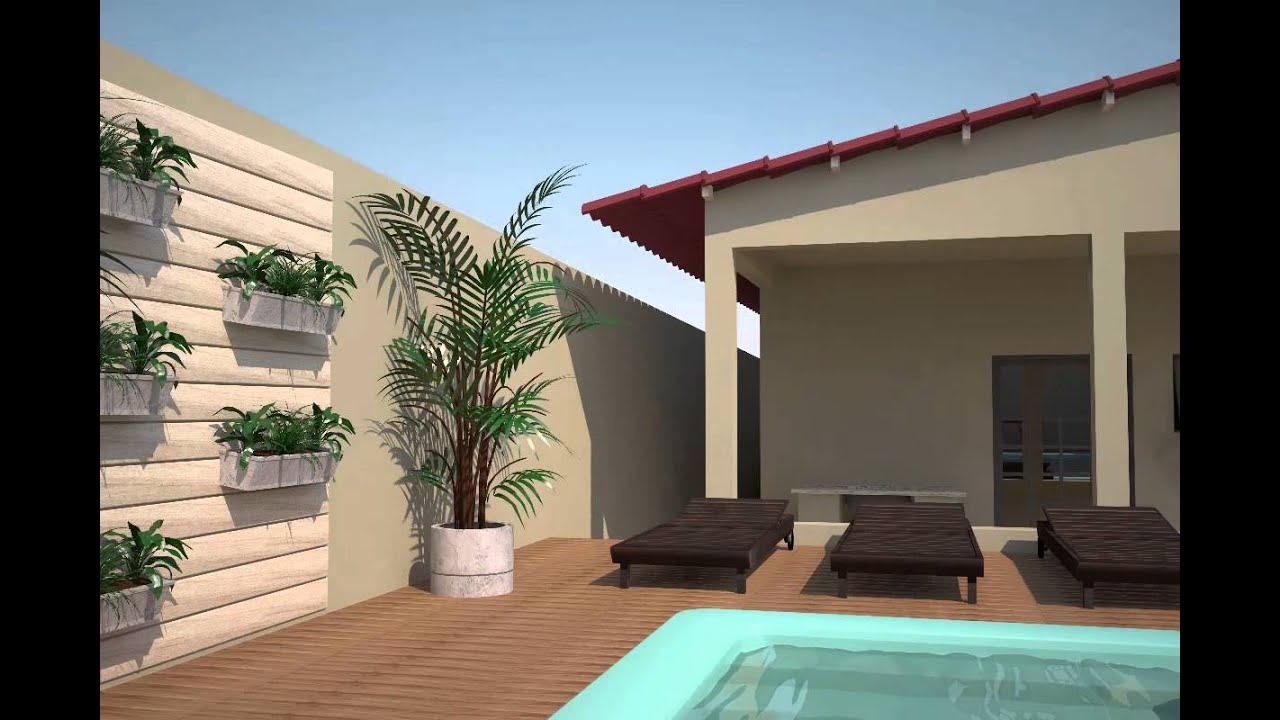 projeto rea de lazer piscina youtube