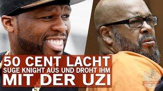 50 Cent verjagt Suge Knight mit der Uzi und lacht sich kaputt!