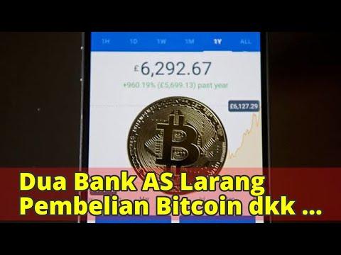 Dua Bank AS Larang Pembelian Bitcoin dkk dengan Kartu Kredit