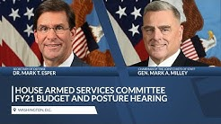 Chairman of the Joint Chiefs, Secretary of Defense testify before the House Armed Services Committee