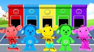 Tiny Love Развивающий мультик для малышей - учим цвета - цвета для детей