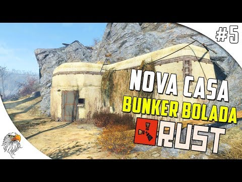 RUST DOS PIRATAS - NOVA CASA BUNKER BOLADONA #5