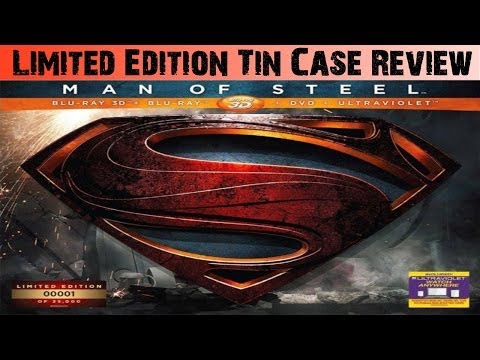 Man of Steel: Limited Collector's Edition - 3D Blu-Ray Tin Case Review