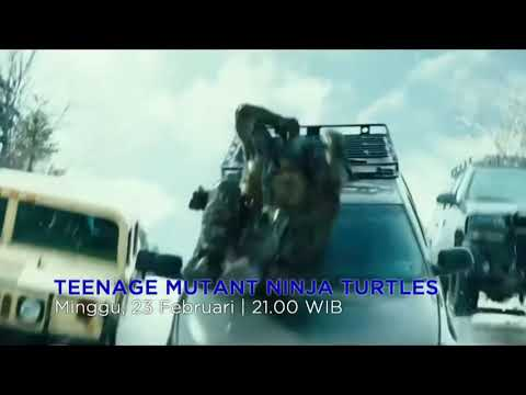 Bioskop TRANS TV | TEENAGE MUTANT NINJA TURTLES - 23 Februari 2020