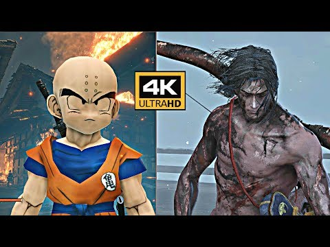 Play Sekiro as Krillin, the strongest man on Earth | PC Gamer