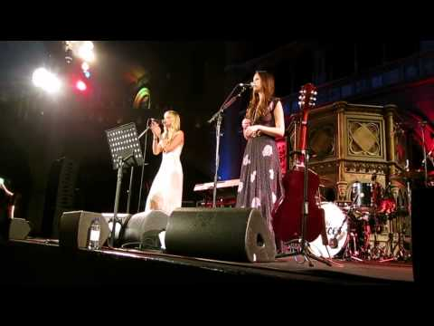 The Pierces @ London Union Chapel 2012 - Kathy's Song