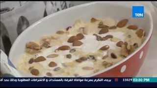 مطبخ 10/10 - الشيف أيمن عفيفي - الشيف منيرة محمد - طريقة عمل أم علي بالجلاش