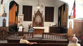 September 05, 2021 CL Lutheran Worship Service