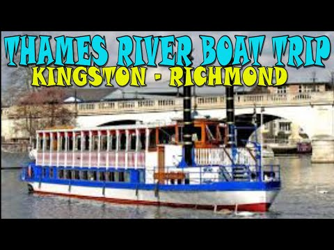 Thames River Boat Cruise Kingston to Richmond 4K