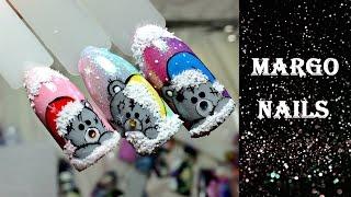 Новогодние мишки Тедди(Привет. Меня зовут Маргарита. Спасибо за Лайк и Подписку! ☞Подписаться на канал https://www.youtube.com/c/Margonails В свои..., 2016-11-17T14:23:14.000Z)